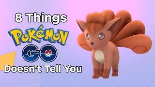 8 Things Pokemon Go Doesn't Tell You