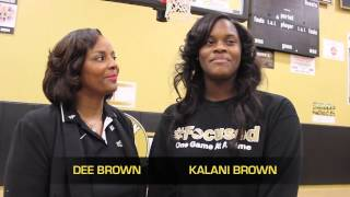 Kalani Brown finalist for Player of Year