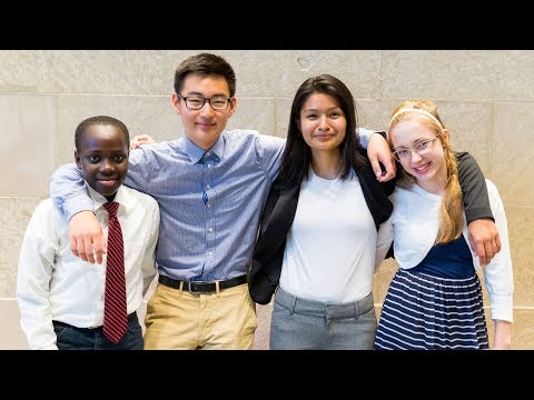 The Cooke Foundation Young Scholars Program, a selective 5-year pre-college scholarship for high-performing middle school students with financial need, is the largest scholarship of its kind in the nation.