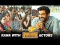 Fun Interview: Rana with the cast of C/O Kancharapalem