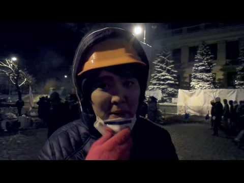 Росіянин на барикадах Євромайдану