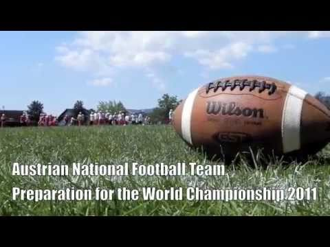 Austrian National Football Team 2011 (American Football) + Mozart = Awesome!