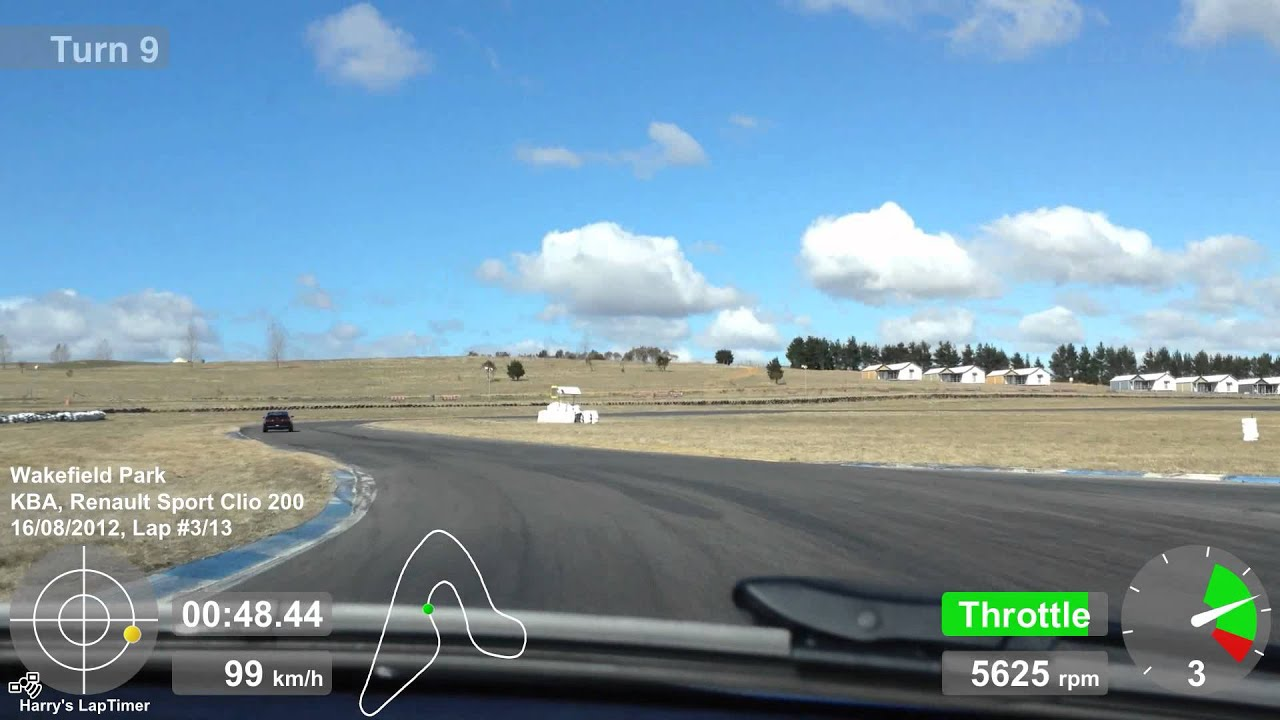 Yet another lap of Wakefield in my Clio