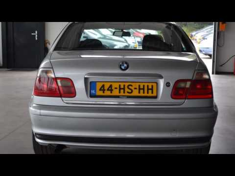 BMW 3 Serie 318i EXECUTIVE Airco ECC Schuifdak Licht metaal In