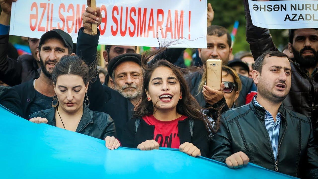 """Митинг оппозиции в Баку: """"Нет грабежу и лжи!"""""""