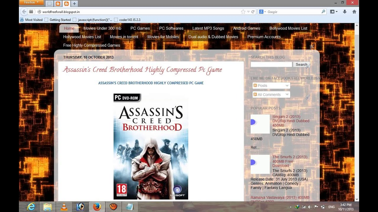 Assassin Creed 3 Highly Compressed Pc Game Free Download