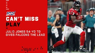 Julio Jones Gives ATL the Lead w/ 54-Yd TD