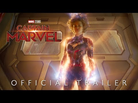 Captain Marvel Official Trailer - Hindi