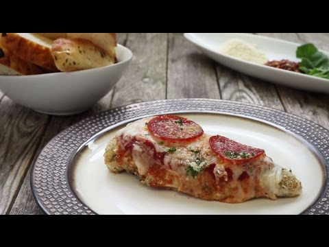 Chicken Recipes - How to Make Pizza Chicken