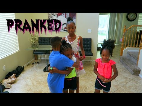 IM TAKING CAMARI HOME PRANK ON KIDS