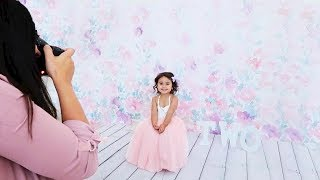 ELLE'S FIRST OFFICIAL PHOTOSHOOT!!! (THE CUTEST TWO-YEAR OLD BIRTHDAY PHOTOSHOOT)