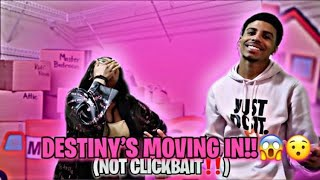 DESTINY'S MOVING IN!😱😯( NOT CLICKBAIT‼️)