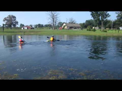 Guiding a Kayaker that is Blind
