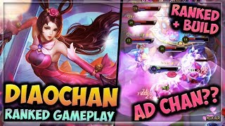 HEROES EVOLVED - DIAO CHAN BUILD | RANKED GAMEPLAY | NEW HERO!!