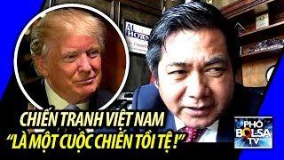"""Tổng thống Donald Trump: Chiến tranh Việt Nam """"là một cuộc chiến tồi tệ!"""""""