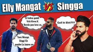 Elly Mangat | Singga | Karan Aujla | New Punjabi Song Funny Roast Video | Aman Aujla
