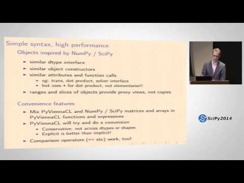 Image from PyViennaCL: Very Easy GPGPU Linear Algebra Part 1