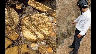 Phát hiện kho báu 1 tấn vàng trong hang đá ở Hòa Bình?