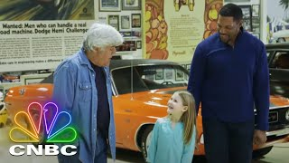 Michael Strahan And Jay Leno Take A 1986 Lamborghini Countach For A Spin | Jay Leno's Garage