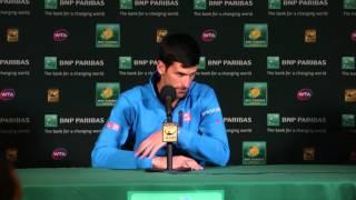 Novak Djokovic QF Press Conference