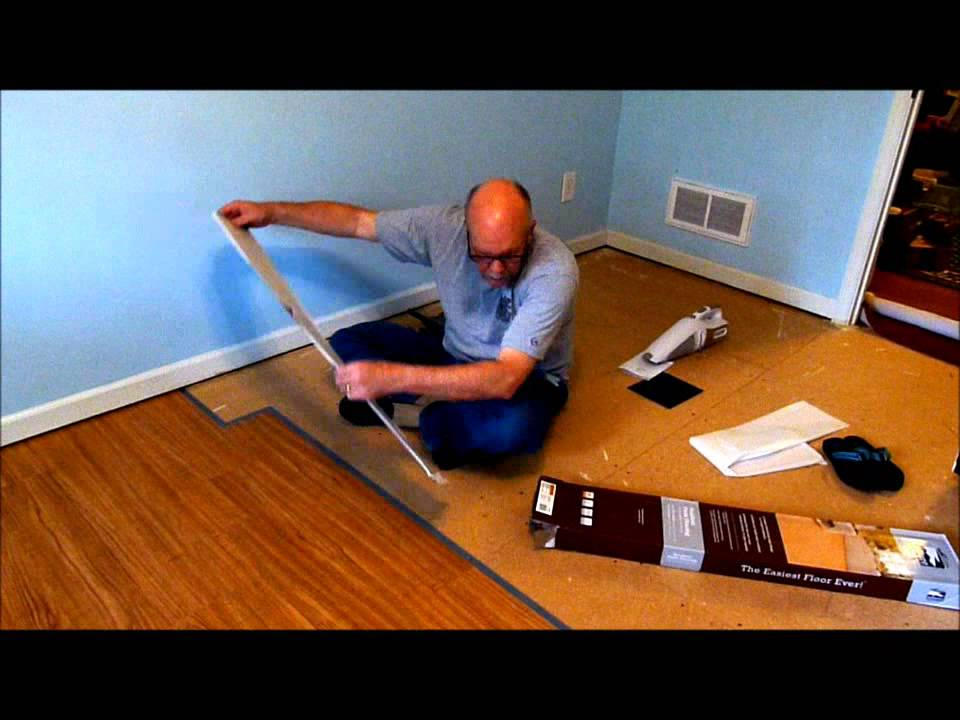 Installing Allure Trafficmaster Resilient Vinyl Flooring