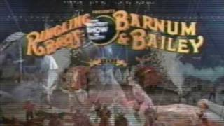 Ringling Brothers Barnum & Bailey Circus commercial