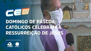 Domingo de páscoa: Católicos celebram a ressurreição de Jesus