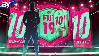 100K FIFA POINTS ON FUT BIRTHDAY PACKS! INSANE ONES PACKED! | FIFA 19 ULTIMATE TEAM PACK OPENING