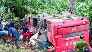 Hiện trường kinh hoàng vụ xe khách rơi xuống vực, 40 người thương vong