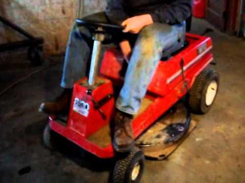 Mtd Rear Engine Lawn Mower Youtube