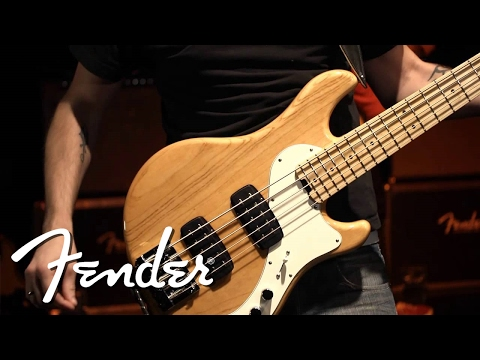 Pete Griffin Jams on the Fender Dimension Bass