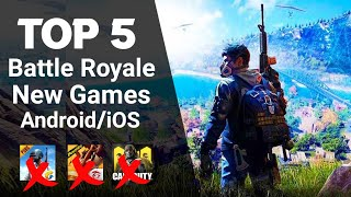 Top 5 Best BATTLE ROYALE Games for Android/iOS | High Graphics Battle Royale Games for Android