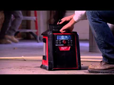 Milwaukee M18RC-0 18v Jobsite Radio Charger Bare Unit
