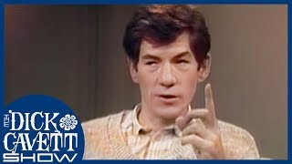 Ian McKellen Explains The Difference Between Acting on Stage and In Movies   The Dick Cavett Show
