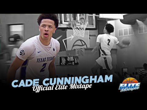 6'7 Cade Cunningham PROVES He's The BEST PG in America! Official EYBL Mixtape