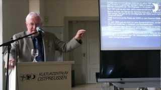 Klaus Weigelt zu den Aktivitäten der Internationalen Ernst-Wiechert-Gesellschaft