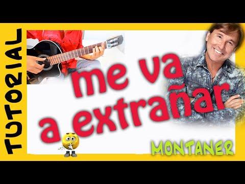 Me va a extrañar - Ricardo Montaner - Como tocar en guitarra