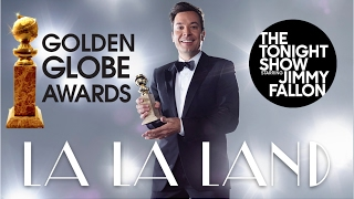 JIMMY FALLON OPENS THE GOLDEN GLOBES CEREMONY | Another Day of Sun (La La Land)