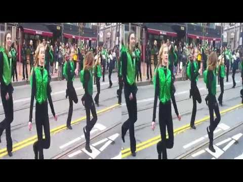 Dance Performance @ St Patrick's Day Parade -San Francisco 2012 (YT3D:enable=true)