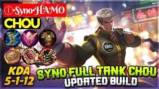 Syno Full Tank Chou Updated Build [ Chou Syno ] Ⓘ•Syno•HAMO Chou Mobile Legends