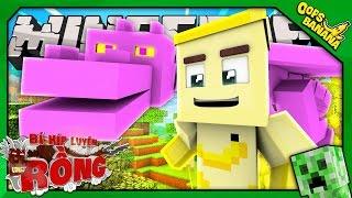CHÚ RỒNG ĐẦU TIÊN (Minecraft Bí Kíp Luyện Rồng 4 #2)