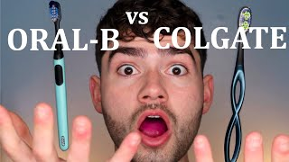 Battle of the Brushes!! Oral-B Clic vs. Colgate Keep