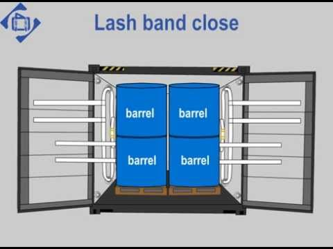 Securing Barrels with Special Lashing 02