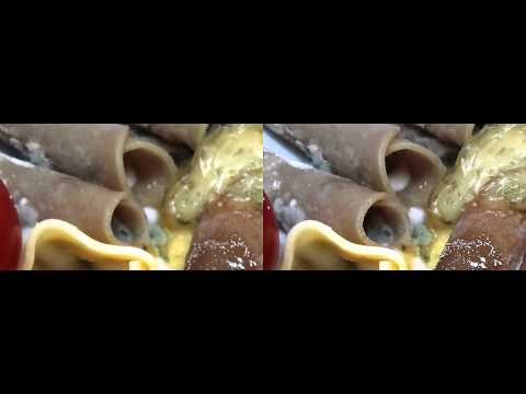 Rotting sausages/hot dog and cheese decay Time Lapse 3D Full HD