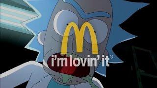 Rick and Morty's McDonald's Szechuan Sauce Commerical