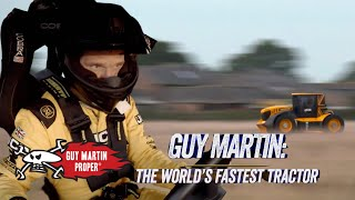 Guy's FINAL WORLD RECORD BREAKING Tractor run | Guy Martin Proper