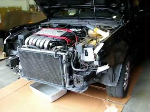 1994 Vw Jetta Radiator Replacement Youtube