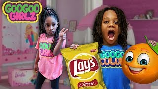 Are Chips Healthy Dre? (Goo Goo Girlz Learn to Eat Healthy Snacks)