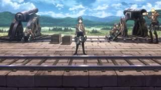 Shingeki No Kyojin (Attack On Titan) Episode 4 ending scene - The collosal titan attacks