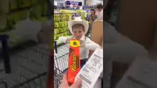 Mason Ramsey Singing at Walmart in Clarksville, TN - Jan. 2017